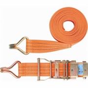 Ремень багажный с крюками, 0.05 х 6 м, храповой механизм Stels